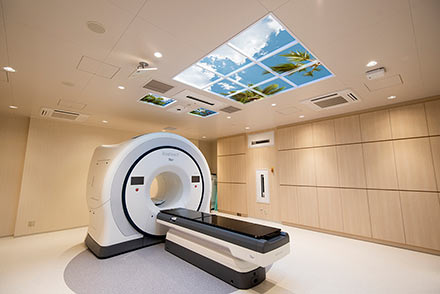 Kurume University Hospital, Tomotherapy Suite