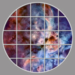 Star Ceiling hubble06_10ftclcr by Hubble Telescope